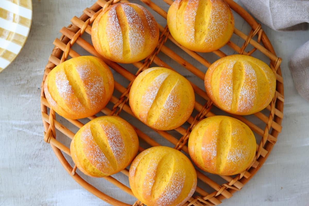 人気のパンをアレンジ♪「はちみつかぼちゃパン」/あいりおー
